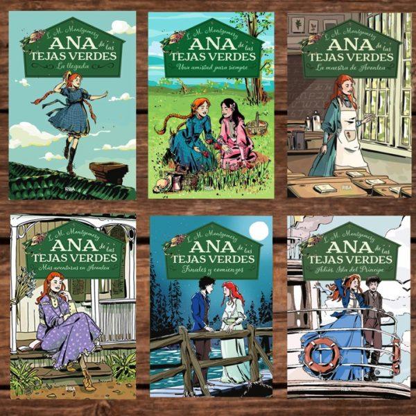 Ana De Las Tejas Verdes Saga Completa Books Comics